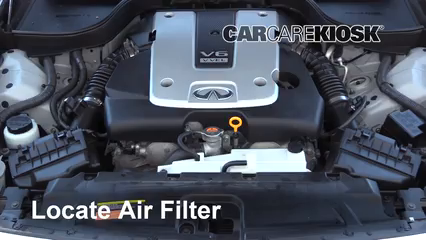 2015 Infiniti Q40 3.7L V6 Air Filter (Engine) Replace