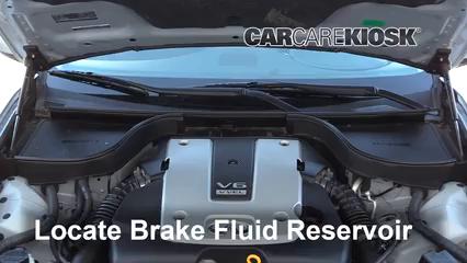 2015 Infiniti Q40 3.7L V6 Brake Fluid