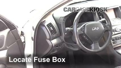 2015 Infiniti Q40 3.7L V6 Fuse (Interior)