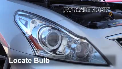 2015 Infiniti Q40 3.7L V6 Lights Parking Light (replace bulb)