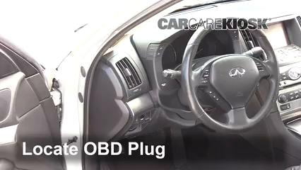 2015 Infiniti Q40 3.7L V6 Check Engine Light