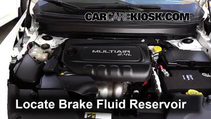 2015 Jeep Cherokee Latitude 2.4L 4 Cyl. Brake Fluid