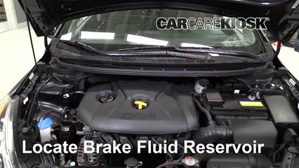 2015 Kia Forte5 EX 2.0L 4 Cyl. Brake Fluid