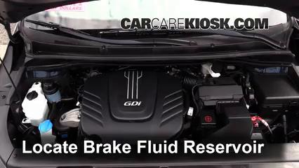 2015 Kia Sedona LX 3.3L V6 Brake Fluid