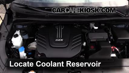 2015 Kia Sedona LX 3.3L V6 Coolant (Antifreeze)