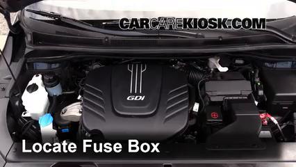 2015 Kia Sedona LX 3.3L V6 Fuse (Engine)