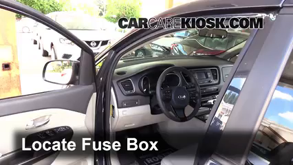 2015 Kia Sedona LX 3.3L V6 Fuse (Interior)