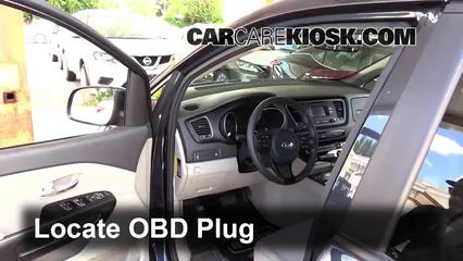 2015 Kia Sedona LX 3.3L V6 Check Engine Light