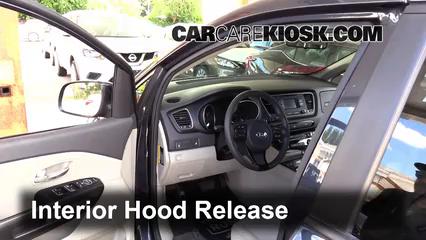 2015 Kia Sedona LX 3.3L V6 Belts