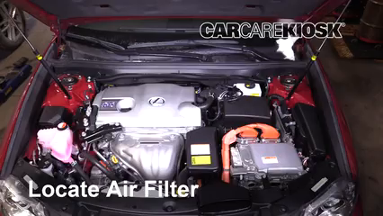 2015 Lexus ES300h 2.5L 4 Cyl. Air Filter (Engine)