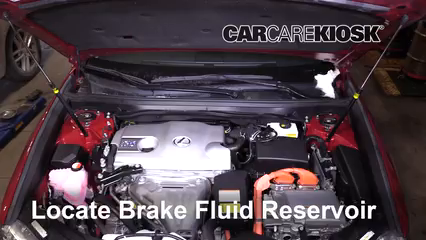 2015 Lexus ES300h 2.5L 4 Cyl. Brake Fluid