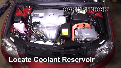 2015 Lexus ES300h 2.5L 4 Cyl. Coolant (Antifreeze)