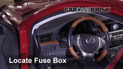 2015 Lexus ES300h 2.5L 4 Cyl. Fusible (interior)