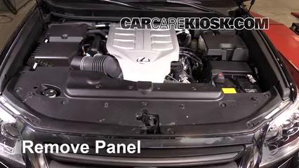 2015 Lexus GX460 Luxury 4.6L V8 Líquido de dirección asistida Agregar líquido