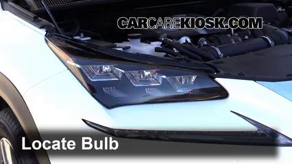 2015 Lexus NX200t 2.0L 4 Cyl. Turbo Luces Luz de carretera (reemplazar foco)