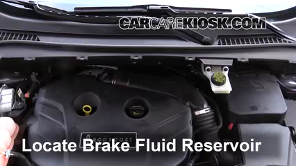 2015 Lincoln MKC 2.0L 4 Cyl. Turbo Líquido de frenos Controlar nivel de líquido