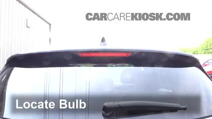 2015 Lincoln MKC 2.0L 4 Cyl. Turbo Luces Luz de freno central (reemplazar foco)