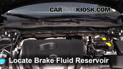 2015 Mazda 6 Sport 2.5L 4 Cyl. Sedan (4 Door) Brake Fluid