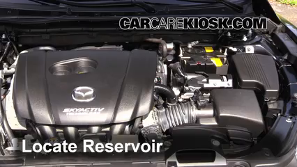 2015 Mazda 6 Sport 2.5L 4 Cyl. Sedan (4 Door) Windshield Washer Fluid