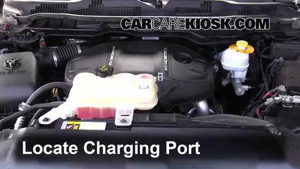 2015 Ram 1500 Laramie Longhorn 3.0L V6 Turbo Diesel Air Conditioner