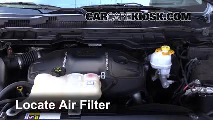 2015 Ram 1500 Laramie Longhorn 3.0L V6 Turbo Diesel Air Filter (Engine)