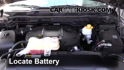 2015 Ram 1500 Laramie Longhorn 3.0L V6 Turbo Diesel Battery