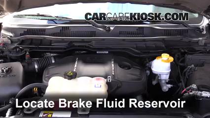 2015 Ram 1500 Laramie Longhorn 3.0L V6 Turbo Diesel Brake Fluid