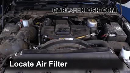2015 Ram 2500 Laramie 6.7L 6 Cyl. Turbo Diesel Crew Cab Pickup (4 Door) Air Filter (Engine)