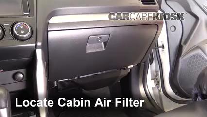 2015 Subaru Forester 2.0XT Touring 2.0L 4 Cyl. Turbo Filtro de aire (interior)