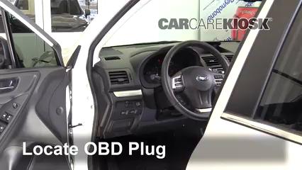 2015 Subaru Forester 2.0XT Touring 2.0L 4 Cyl. Turbo Compruebe la luz del motor