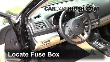 2015 Subaru Legacy 2.5i Premium 2.5L 4 Cyl. Fusible (interior)