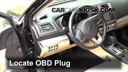 2015 Subaru Legacy 2.5i Premium 2.5L 4 Cyl. Compruebe la luz del motor