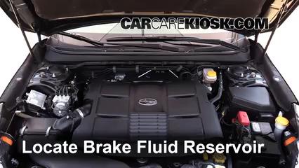 2015 Subaru Outback 3.6R Limited 3.6L 6 Cyl. Líquido de frenos