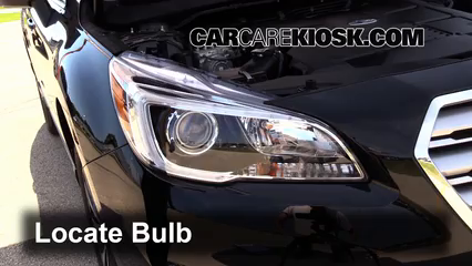 2015 Subaru Outback 3.6R Limited 3.6L 6 Cyl. Lights Turn Signal - Front (replace bulb)