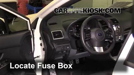 2015 Subaru WRX Limited 2.0L 4 Cyl. Turbo Fusible (interior)