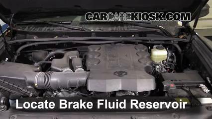 2015 Toyota 4Runner SR5 4.0L V6 Brake Fluid