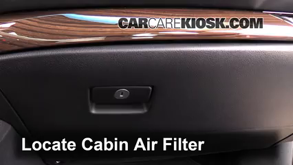 2015 Toyota Avalon XLE 3.5L V6 Air Filter (Cabin)