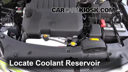 2015 Toyota Avalon XLE 3.5L V6 Coolant (Antifreeze) Add Coolant