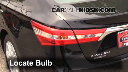 2015 Toyota Avalon XLE 3.5L V6 Lights