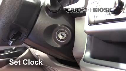 2015 Toyota Highlander LE 2.7L 4 Cyl. Clock