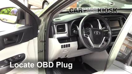 2015 Toyota Highlander LE 2.7L 4 Cyl. Check Engine Light