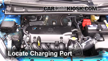 2015 Toyota Yaris LE 1.5L 4 Cyl. Hatchback (4 Door) Air Conditioner