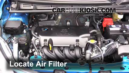 2015 Toyota Yaris LE 1.5L 4 Cyl. Hatchback (4 Door) Air Filter (Engine)