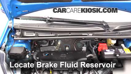 2015 Toyota Yaris LE 1.5L 4 Cyl. Hatchback (4 Door) Brake Fluid