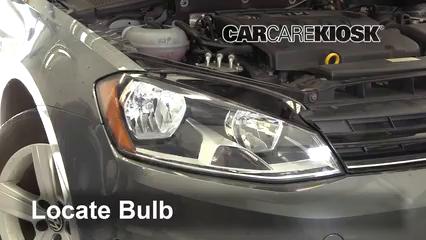 2015 Volkswagen Golf SportWagen TDI S 2.0L 4 Cyl. Turbo Diesel Luces Luz de marcha diurna (reemplazar foco)