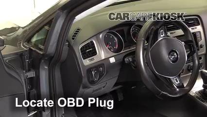 2015 Volkswagen Golf SportWagen TDI S 2.0L 4 Cyl. Turbo Diesel Compruebe la luz del motor