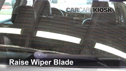 2015 Volkswagen Golf SportWagen TDI S 2.0L 4 Cyl. Turbo Diesel Escobillas de limpiaparabrisas trasero