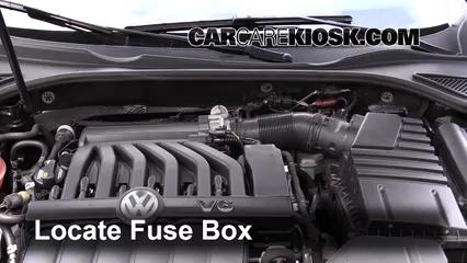 2015 Volkswagen Passat SEL Premium 3.6L V6 Fusible (motor) Control