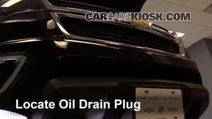 Oil Amp Filter Change Chevrolet Colorado 2015 2019 2016