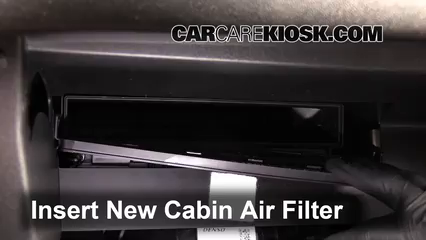 Cabin Filter Replacement Chevrolet Malibu 2016 2019